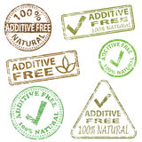 Additive Free Stamps Stock Photography