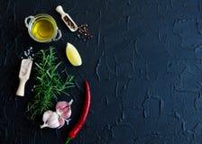 additives aromatycznych kuchni elementów karmowe ziele składników naturalnej selekci pikantność Zdjęcia Stock
