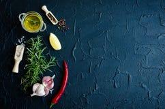 additives aromatycznych kuchni elementów karmowe ziele składników naturalnej selekci pikantność Zdjęcia Royalty Free