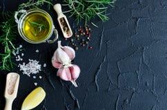 additives aromatycznych kuchni elementów karmowe ziele składników naturalnej selekci pikantność Zdjęcie Royalty Free