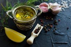 additives aromatycznych kuchni elementów karmowe ziele składników naturalnej selekci pikantność Obrazy Royalty Free