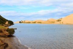 Addo大象国家公园海洋地区风景,南非 免版税库存照片