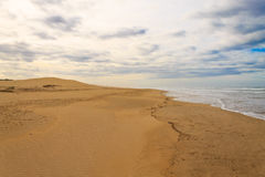 Addo ελεφάντων εθνικό τοπίο περιοχής πάρκων θαλάσσιο, Νότια Αφρική Στοκ Εικόνες