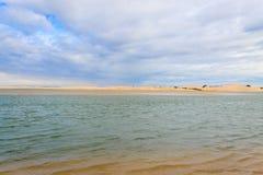 Addo Elephant National Park-Meeresgebietlandschaft, Südafrika Stockfotografie