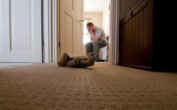 Addolorarsi gli incidenti mortali Fotografie Stock