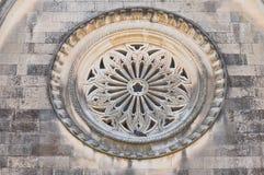 Addolorata Church. Corigliano-d'Otranto. Puglia. Italien. Stockbild