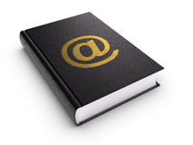 Address book. Clipping path included Royalty Free Stock Photo