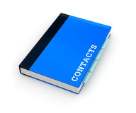 Address book icon Royalty Free Stock Photo