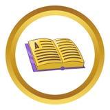 Address book vector icon Stock Photography