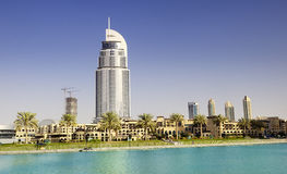 The Address Hotel in the downtown Dubai area Royalty Free Stock Photos