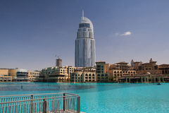 The Address Hotel in the downtown Dubai Stock Photo