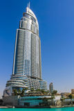 The Address hotel in downtown Dubai, United Arab Emirates Stock Image