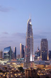 The Address Hotel in Dubai Royalty Free Stock Photos