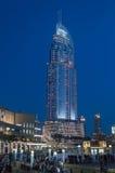The Address Hotel, Dubai at night Stock Photos