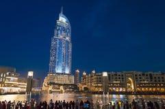 The Address Hotel, Dubai at night
