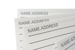 Address & Phone Book Stock Photos