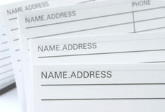 Address & Phone Book royalty free stock photo