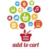 AddToCart Immagini Stock