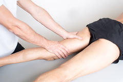 Adductor problems Royalty Free Stock Images