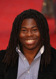 Ade Adepitan. Arriving for the Chariots of Fire Premiere held at the Empire Leicester Square - London, England. 10/07/2012 Picture by: Henry Harris / stock images