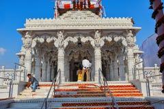 Ade de ½ de ¿ de Faï, temple d'Ashapura Mataji, route de Katraj, Pune Maharashtra, Inde image stock