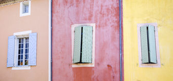 ade fa Roussillon Fotografia Stock