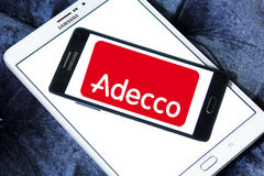 Adecco-Logo Stockfotos