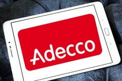 Adecco-Logo Stockfotografie