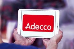 Adecco-Logo Lizenzfreie Stockfotografie