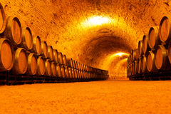 Adega de vinho antiga Imagens de Stock