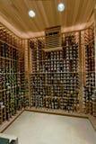 Adega de vinho doméstica Fotografia de Stock