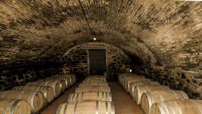 Adega de vinho em Toscânia Itália Imagens de Stock
