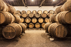 Adega de vinho, Porto Imagens de Stock Royalty Free