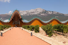 Adega de Ysios, LaGuardia, La Rioja, Espanha Imagem de Stock