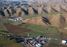 Adega em Marlborough, Nova Zelândia Foto de Stock Royalty Free