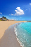 Adeje παραλία Las Αμερική ακτών νότιο Tenerife Στοκ Εικόνα