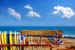Adeje Beach Playa Las Americas in Tenerife Stock Image