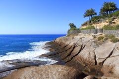 Adeje-Küste Stockbild