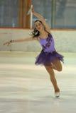 Adela Jelinkova - patinaje artístico Foto de archivo