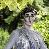 Adela Mihai - statue viventi Immagine Stock Libera da Diritti