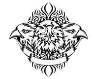 Adelaars en patronen Royalty-vrije Stock Afbeelding