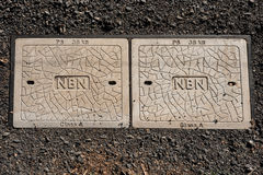 ADELAÏDE, SA, AUSTRALIE - FÉVRIER 2016 : le déroulement de NBN continue Photo libre de droits