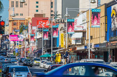 Adelaide 06. Adelaides Hindley Street is a hub of entertainment and nightlife Royalty Free Stock Photography