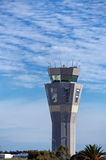 Adelaide Airport Control Tower fotografia stock