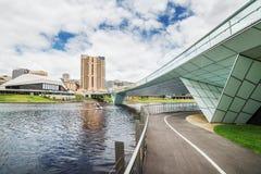Adelaide-Ansicht am Mittag Stockfotografie