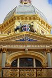 Adelaide Arcade-Dachdetail Lizenzfreie Stockbilder