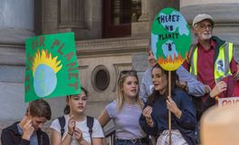Climate Change - Ides of March 2019 royalty free stock photos