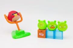 Giocattoli arrabbiati degli uccelli Fotografia Stock