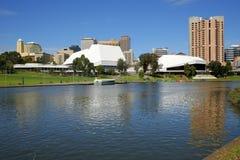 adelaide Australien flod södra torrens Arkivfoton