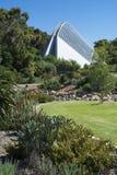 Adelaide Botanic Garden Bicentennial Conservatory, Südaustral Stockfotografie